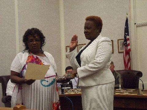 Angela Sapp elected District 2 Commissioner