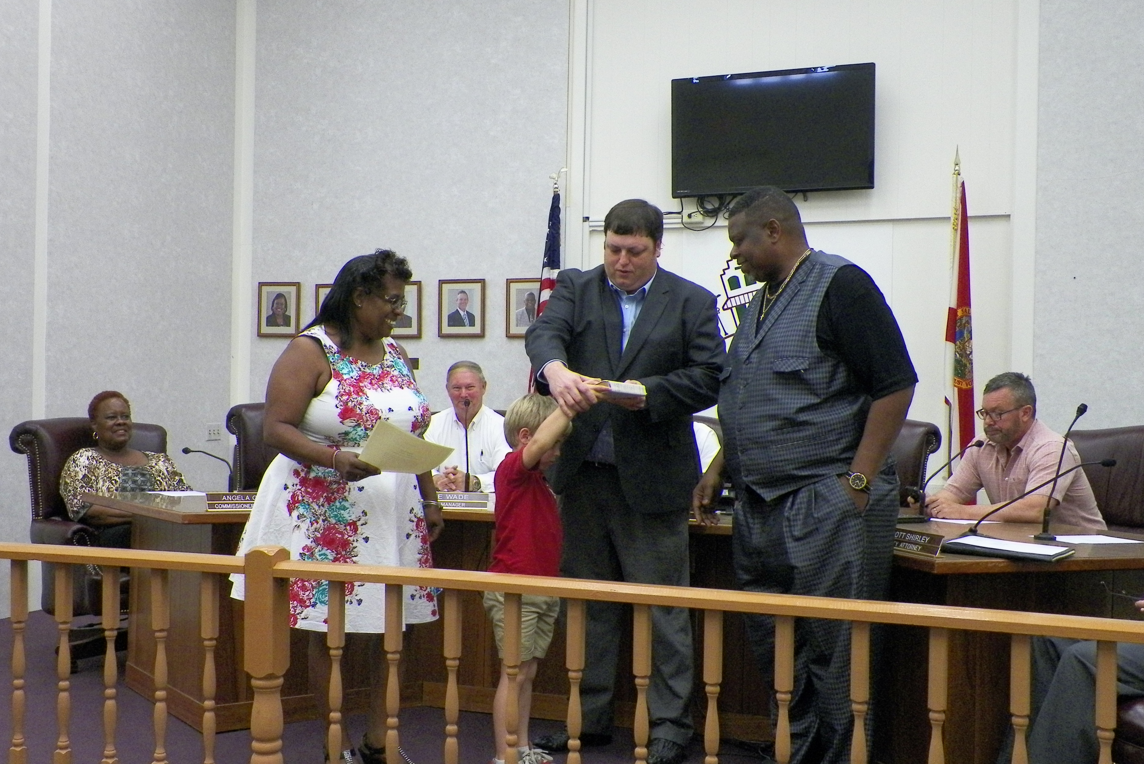 Commissioners McMillan & Dowdell