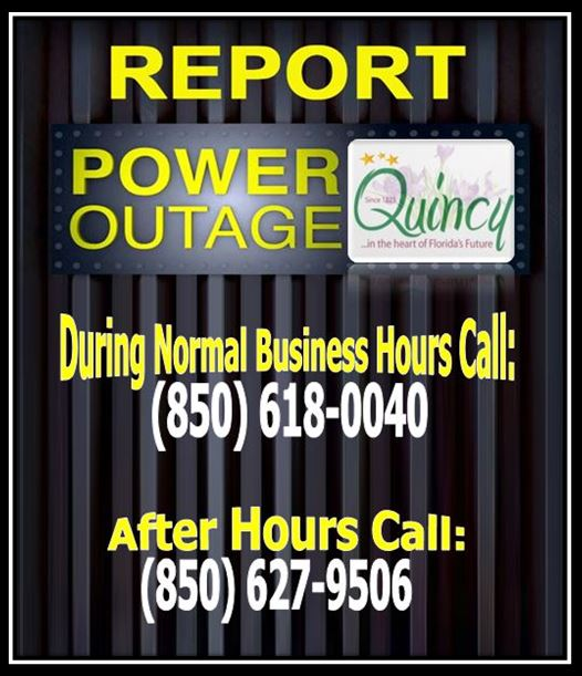 Reporting Power Outages PIC