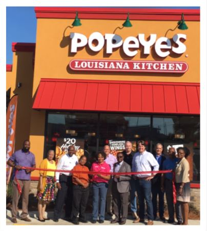 Popeyes Grand Opening November 6, 2017