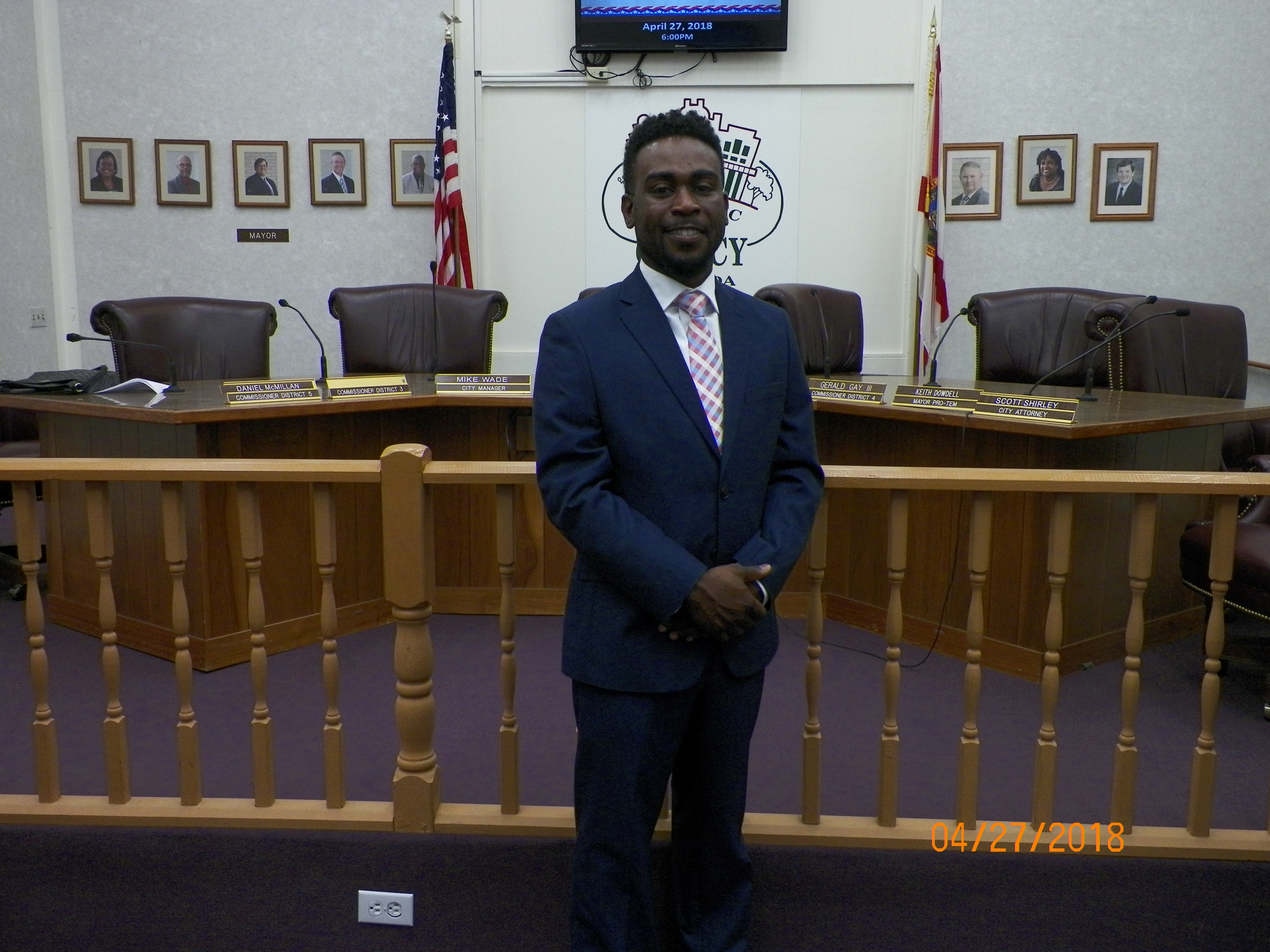Commissioner Ronte Harris