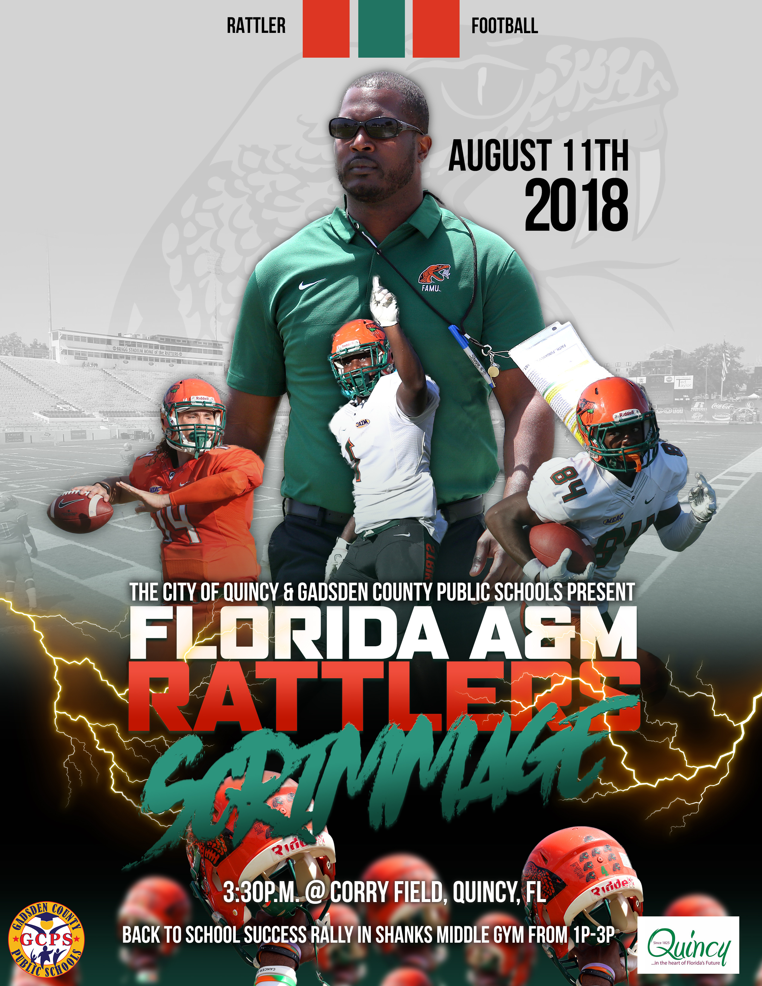 FAMU Scrimmage Game @ Corry Football Field   Quincy   Florida   United States