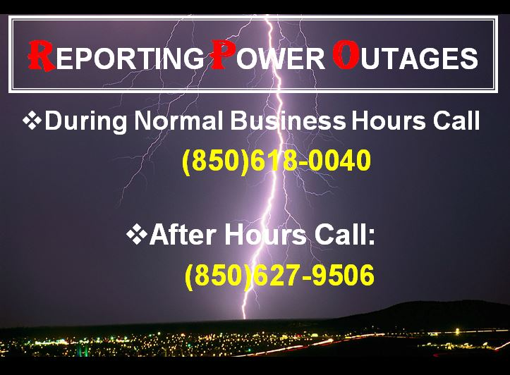 Reporting Power Outages Page 2
