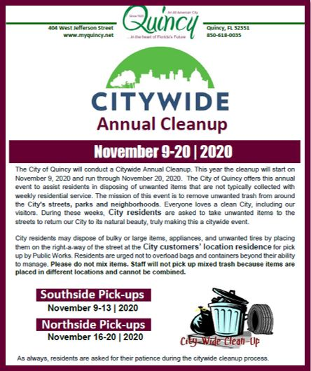 Citywide Cleanup 2020