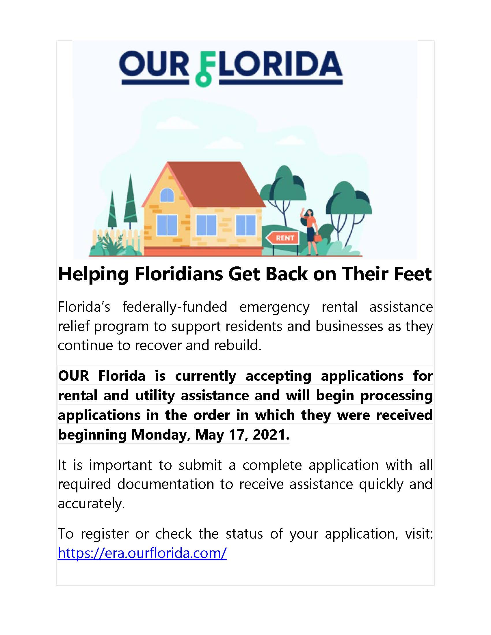 OUR Florida Funding 07072021